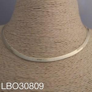 Collar bañado en oro de largo 35-43cm Plano 1 LBO30809
