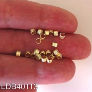 Mostacilla bañada en oro 1gr