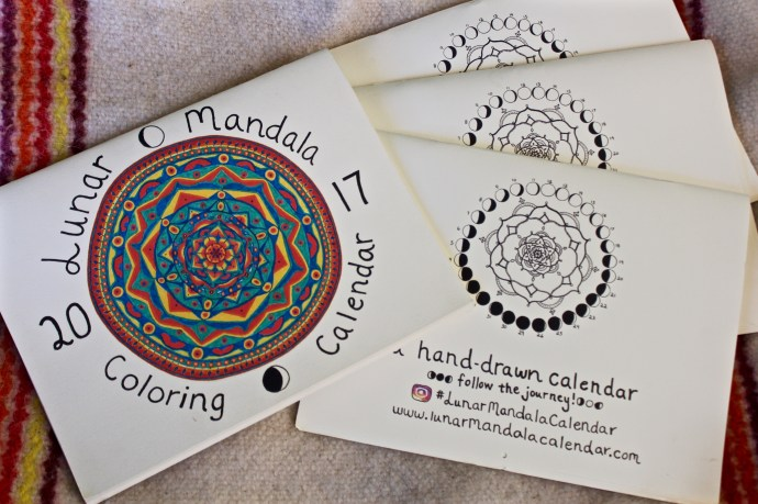 connect with the Lunar Mandala Calendar on instagram! #lunarmandalacalendar