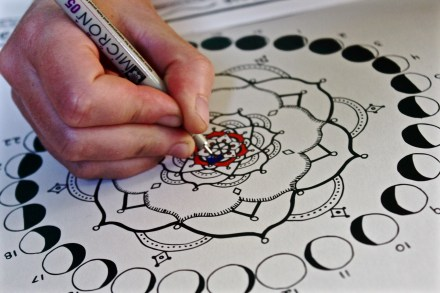 coloring meditation