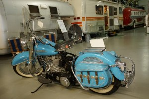 Motorcyle at RV Museum in Amarillo, TX