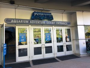 Denver Aquarium Shark Exhibit Entrance