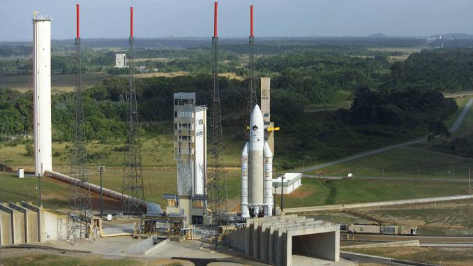 ESA Ariane Launch Pad