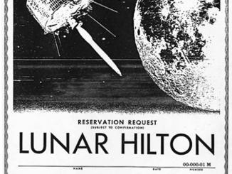 Lunar Hilton Reservation Request (Advertisement)