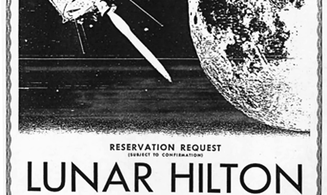 Lunar Hilton Reservation Request (Advertisement)