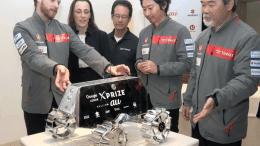 Team Hakuto and Google X Prize Staff (Photo)
