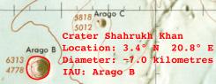 Shah Rukh Khan Moon Crater Detail (Image)
