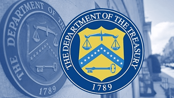 US Treasury Department Seal (Image)