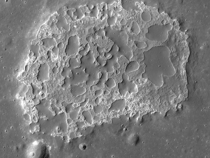 Irregular Mare Patch Ina (Photo)