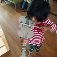 DIY: A Cereal Box Violin