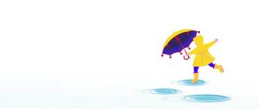 Aditi Raychoudhury. Rain! Rain! Come my way! I want to puddle hop ALL day! 2015. Adobe Illustrator.
