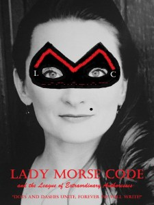 Lady Morse Code Headshot