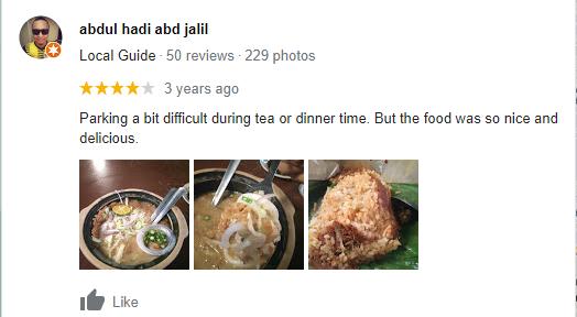 Tempat Makan Laksa Sedap Perak 4
