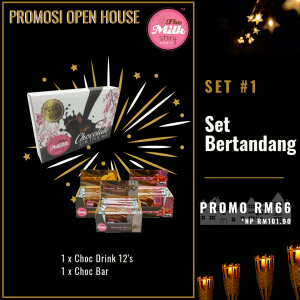 (Promosi Open House The Milk Story) Set Bertandang