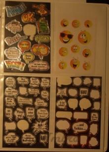 Sonstige Sticker