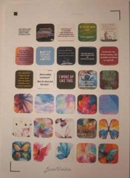 fertiges Sticker Sheet
