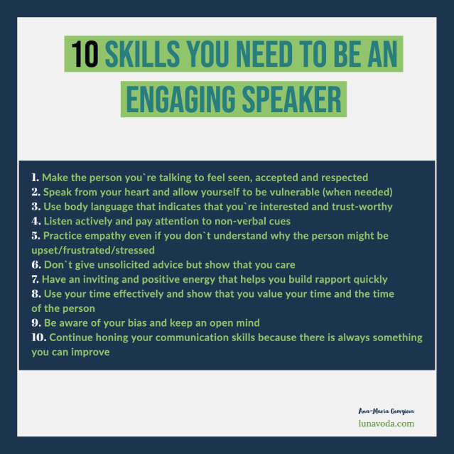 10 ways to be a more engaging speaker