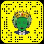 QR code Snapchat page nous contacter