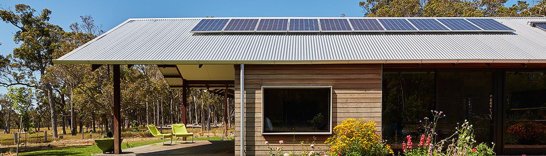 A Modern Farm House with a Traditional FarmStyle Verandah