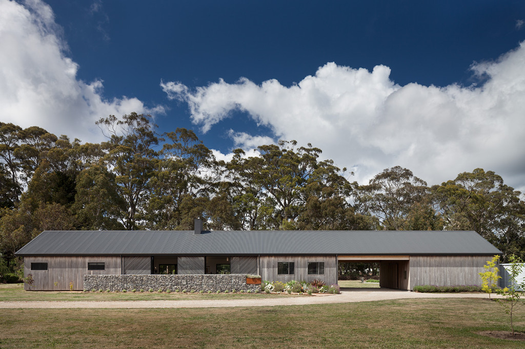 Trentham Long House Has Old World Charm In A Modern Package
