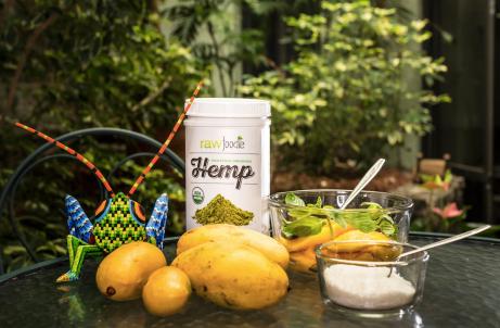 Ingredientes Smoothie Mango Hemp Hierbabuena
