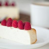 Cheesecake Noble sin gluten, sin azúcar, opción vegana