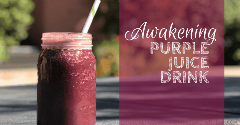 awakening purple juice drink recipe boost your energy