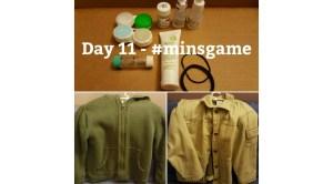 Minimalist Game - Day 11