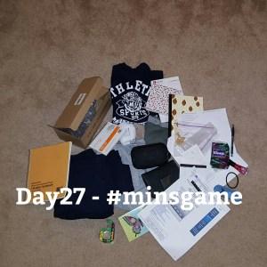 Minimalist Game - Day 27