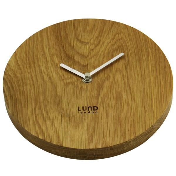 Pure Oak 22cm Wall Clock - 6021