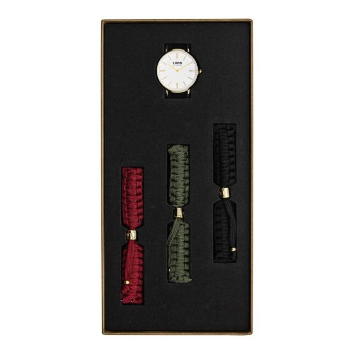 Set No 9 - 39mm Braided Watch Set