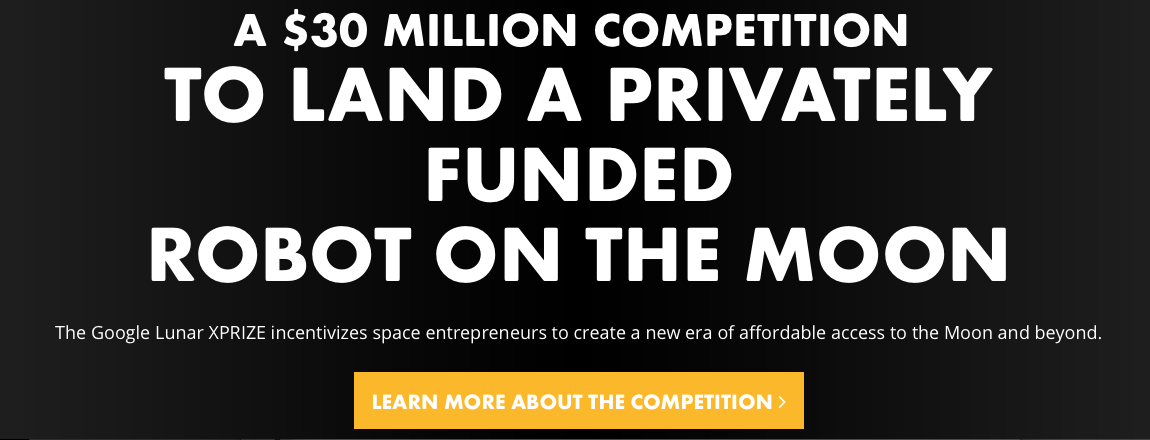 Google Lunar Xprize winner, welcome to the moon lune.space