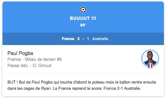 but pogba coupe du monde 2018 russie