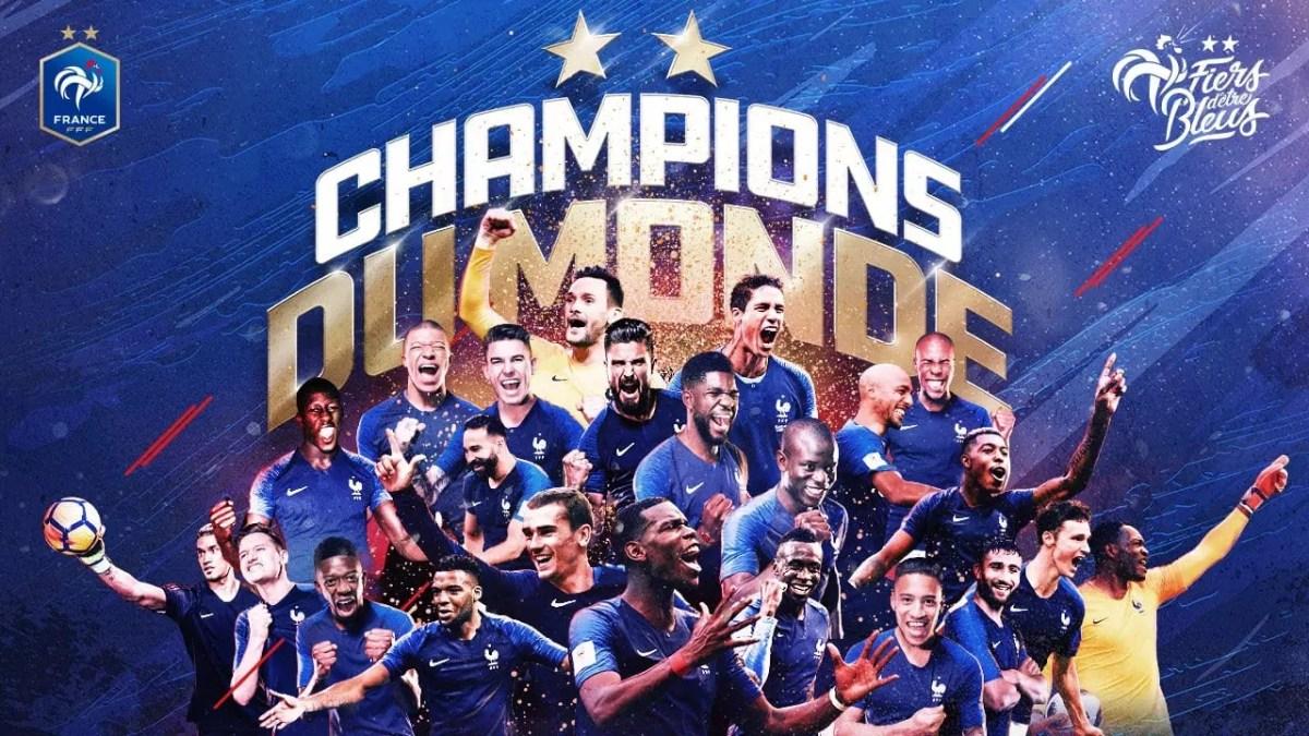 Finale France – Croatie 4-2 #fracro