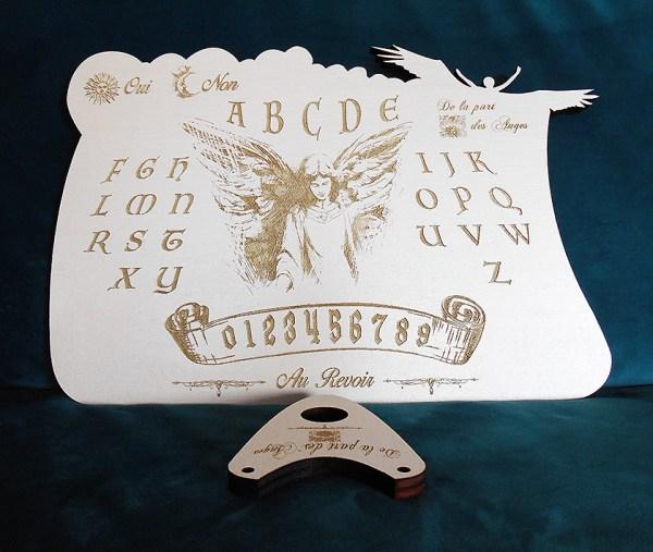 planche de ouija lunemystique blanche