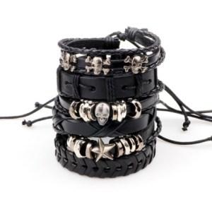 bracelet ésotérique gothique