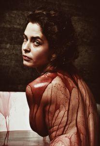 Bain de sang vampire
