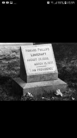 HP LOVECRAFT tombe