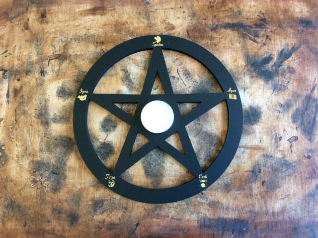 pentacle et pentagramme