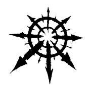 symbole ésotérique étoile du chaos
