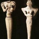 Sculpture lézard