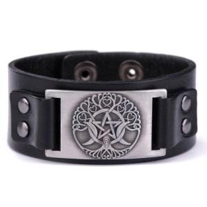 bracelet pentacle wicca