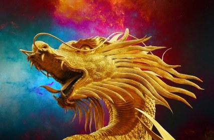Dragon chinois représentation