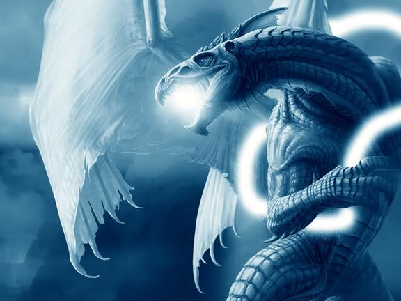 Dragons bleu