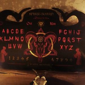 Ouija Darkness Lunemystique