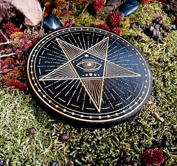 Pentagramme noir