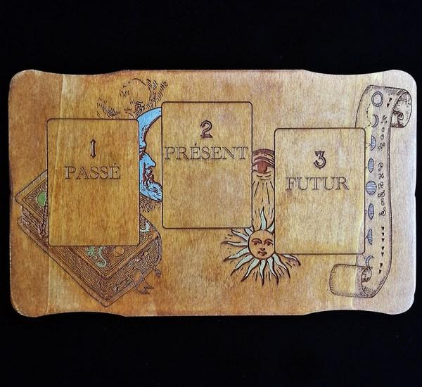 Plateau carte Oracle et Tarot