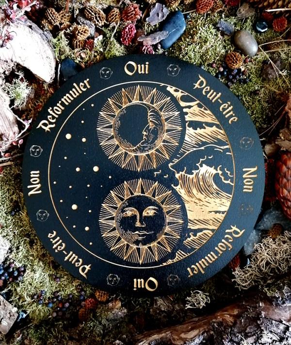 Pendule divinatoire ésotérique