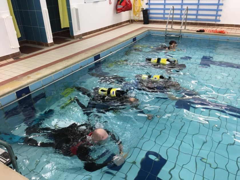 Training in Lune Valley Pool