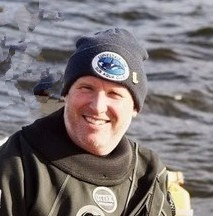 Rob Whittaker. Diving Officer